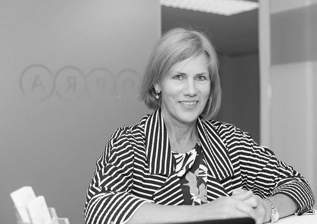 OPRA Corporate Portrait - Black and White