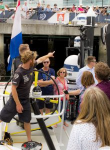 Volvo Ocean Race - Brunel Boat Tour