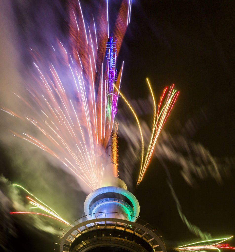 Rydges New Year's Eve Party 2018 Skytower Fireworks