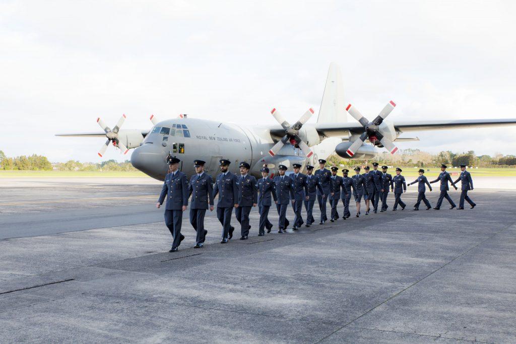 New Zealand Air Force Parade Photography Hercules