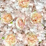 Photography backdrop artificial flower wall