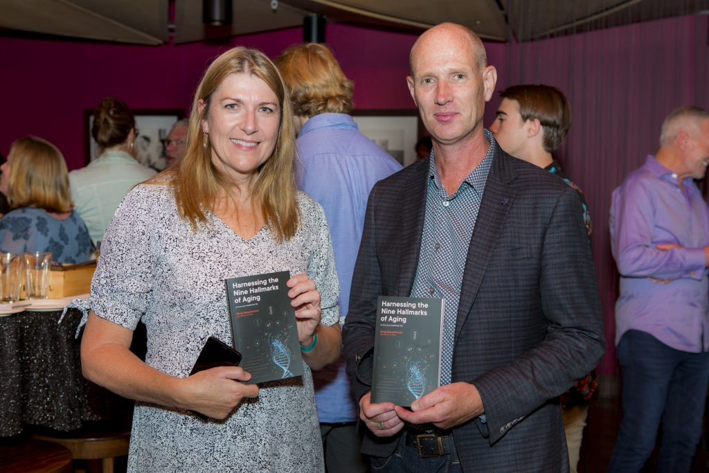 Freestyle Event Photography Book Launch Author Greg Macpherson Harnessing the Nine Hallmarks of Aging
